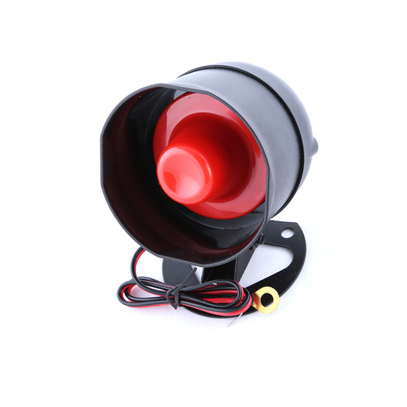 Homyl 12V-24V 105DB Universal Car Horn Waterproof Backup Reverse Beeper Warning Alarm for Vehicles Trucks Heavy Equipment