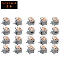 Tiptop tp g3038 6in1 20 xlot RGBWA УФ 6in1 свободу DJ LED PAR света полностью Беспроводной 12x18 Вт привело мыть приспособление D Fi Системы