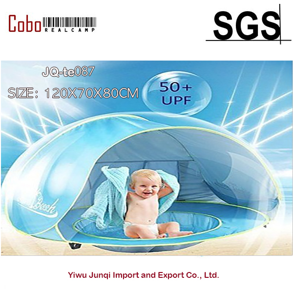 <font><b>Baby</b></font> Infant UV Sun Protection Beach Pool Shade Tent Shelter Portable For Kids