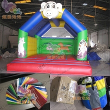 2017 New Inflatable Toy Jumping Elephant Bouncy Castle Bouncer