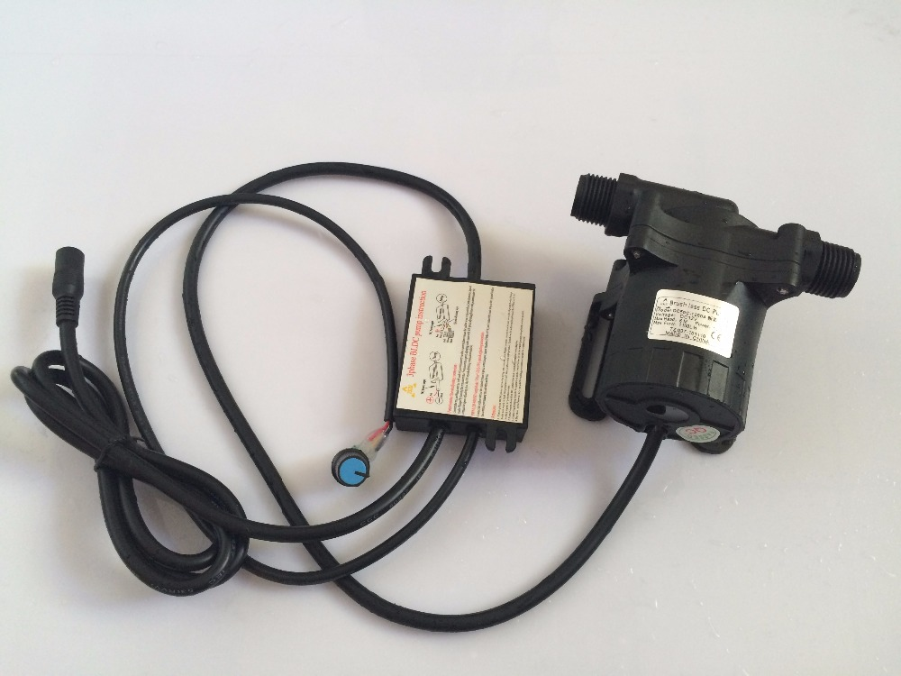 3 phase Adjustable speed 12V Brushless DC Car circulating pump 2100LPH 6M, 50C 1260A High temp For Auto water circulation