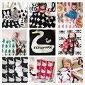 22 моделей! Мода осень-зима Крест Сердце Лебедь Облако Дерево Трикотажные Одеяло, детское одеяло дети бросить одеяло, диван-кровать одеяло