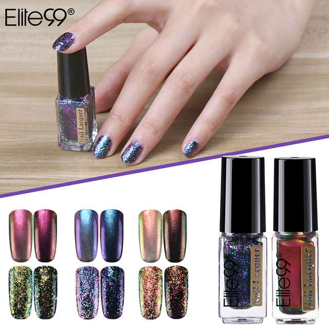 Elite99 6ml Chameleon Nail Lacquer Color-changing Nail Polish Fashion Mood  Changing Lacuqer for DIY - Elite99 6ml Chameleon Nail Lacquer Color Changing Nail Polish