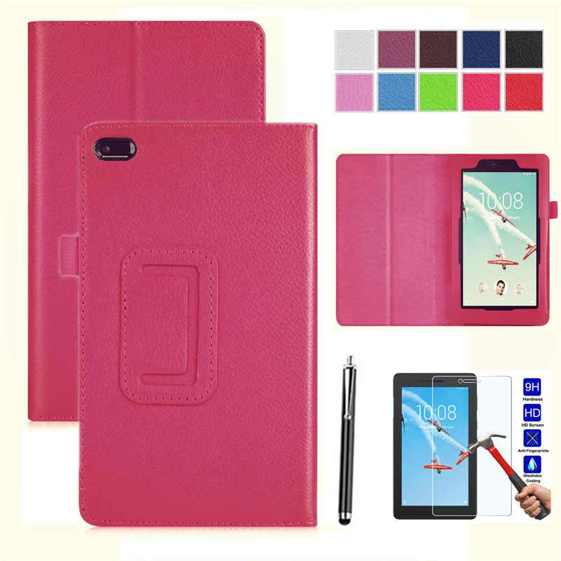XSKEMP Ultra Slim Shockproof Kickstand Folding PU Leather Flip  Case Cover Skin For Lenovo Tab E8 / Tab 8 TB-8304F TB-8304F1 8.0