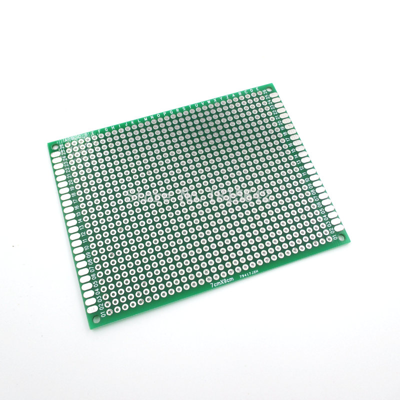 5PCS/Lot 7X9cm Double Side Prototype pcb 7*9cm Breadboard