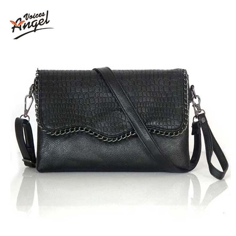Dames Handtassen Ontwerpers Mode Vintage tassen Dames Schoudertassen Krokodil Kleine dames Messenger Bag Crossbody enveloptassen