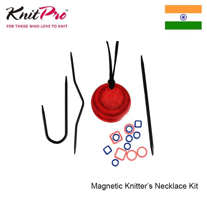 Kit de collier tricots magnétiques tricots outils de broderie à tricoter artisanat