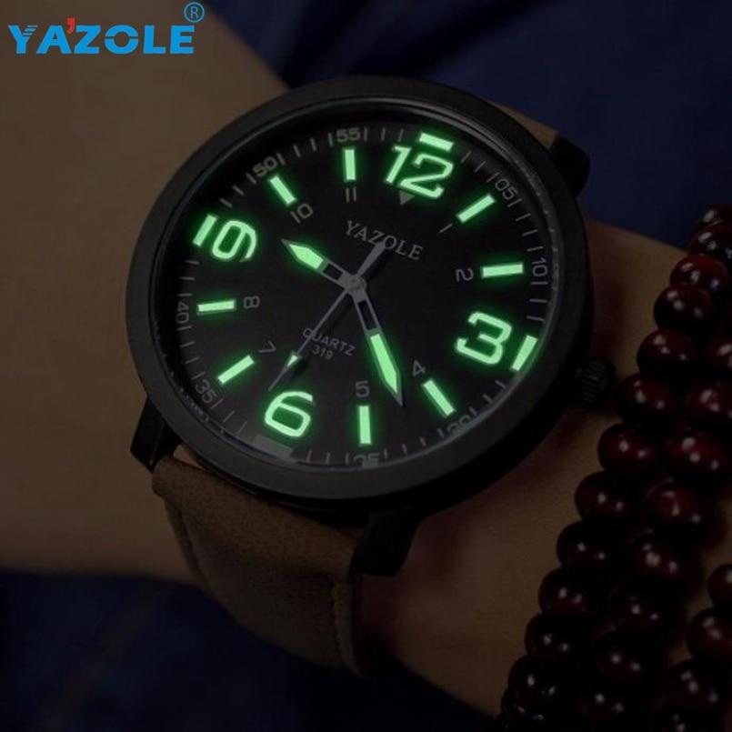 YAZOLE Wrist Watch Men Top Brand Luxury Famous Wristwatch Male Clock Quartz Watch Hodinky Quartz-watch Relogio Masculino #A626
