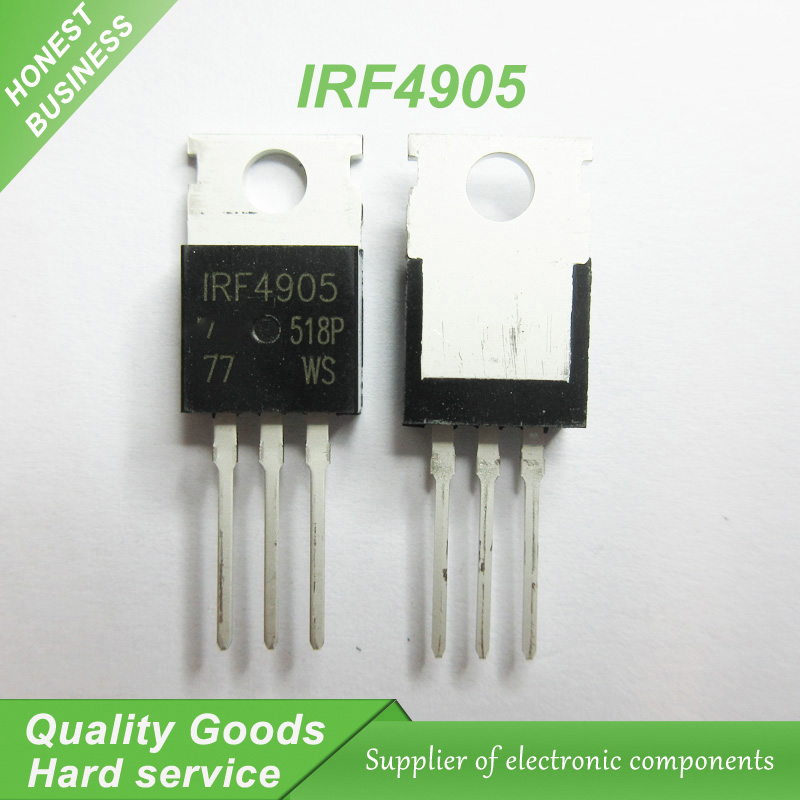 10PCS IRF4905 IRF4905PBF TO-220 MOS FET P channel field effect 74A 55V 200W new original10PCS IRF4905 IRF4905PBF TO-220 MOS FET P channel field effect 74A 55V 200W new original