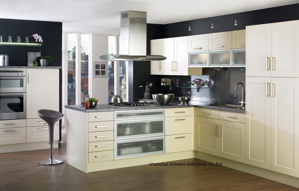 Pvc Vinyl Kitchen Kabinet Lh Pv081 Kitchen Cabinet Pvc Kitchen Cabinetpvc Cabinet Aliexpress