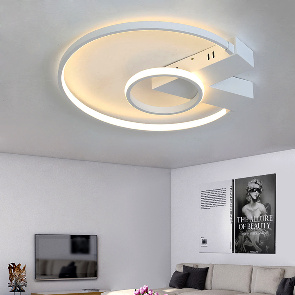 Led Ceiling Lamp with Dimmable Ceiling Lights for Living Room Bedroom Kitchen Remote Control led light Modern Simple цена