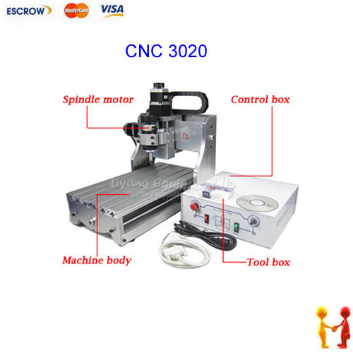 CNC 3020 Mini Desktop Engraving Machine 2030 Drilling Milling Carving Router cnc 5axis a aixs rotary axis t chuck type for cnc router cnc milling machine best quality