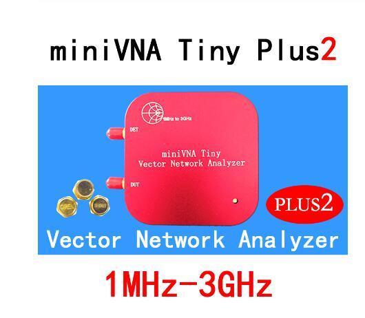 1 M 3 GHz Vektör Ağ Analizörü miniVNA Küçük Plus2 VHF/UHF/NFC/RFID RF Anten analizörü Sinyal Jeneratörü SWR/S Parametre/Smith