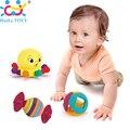Atacado 3 PC Brinquedo Do Bebê Do Bebê Chocalhos com Sino do Anel Bonito animal dos desenhos animados do bebê recém-nascido presentes early educacional toys huile toys presente