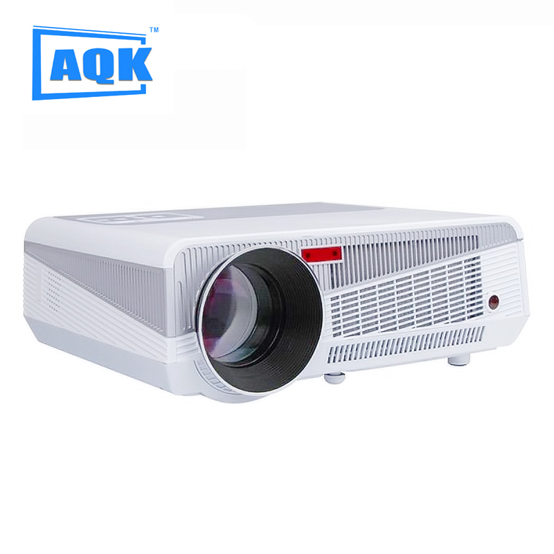 2016 5500lumens Android 4.4 HD LED Wifi Smart Projector 230W 3D home theater LCD Video Proyector TV Beamer with Bluetooth 4.0