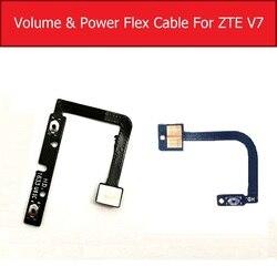 Genuine ligar/desligar power & volume cabo flexível para zte lâmina v7 bv0701 controle de áudio lado chave botão flex fita peças reposição