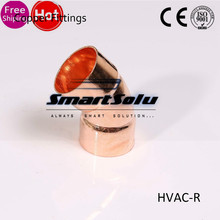 Factory Direct 25mm 1 0mm 45 Degree Copper Pipe Elbows Welding Ings