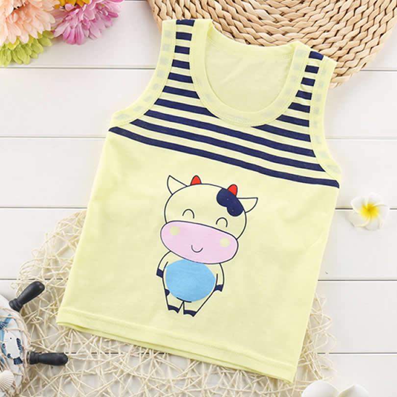 Shirt-Baby-Blouses-Kids-Vest-Sleeveless-t-shirt-Boys-new-Toddler-Shirts-Cool-Pig-Print-Cotton-Cartoon-Children-s-single-Shirt-1