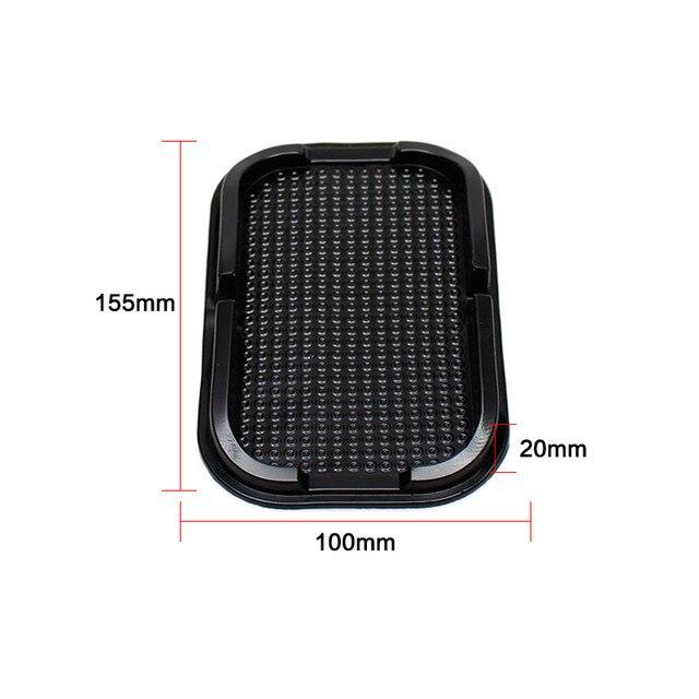 Black Car Dashboard Sticky Pad Mat Anti Non Slip Gadget Mobile Phone GPS Holder Interior Accessories soporte For meizu m2 mini