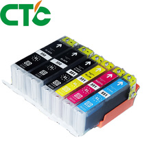 6 Pack PGI 550 CLI551XL Ink Cartridge Compatible for Canon Pixma IP7250 MG5450 MX925 MG5550 MG6450 MG5650 MG6650 IX6850 MX725