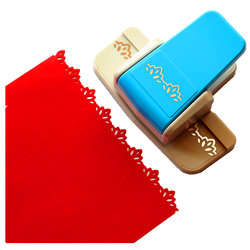 New Style Fancy border punch number 2 foam paper embossing punch scrapbooking Edge device