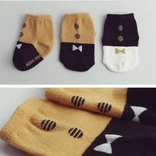 Новые весенние хлопковые детские носки с героями мультфильмов модные нескользящие носки для маленьких мальчиков и девочек носки унисекс для малышей от 0 до 4 лет
