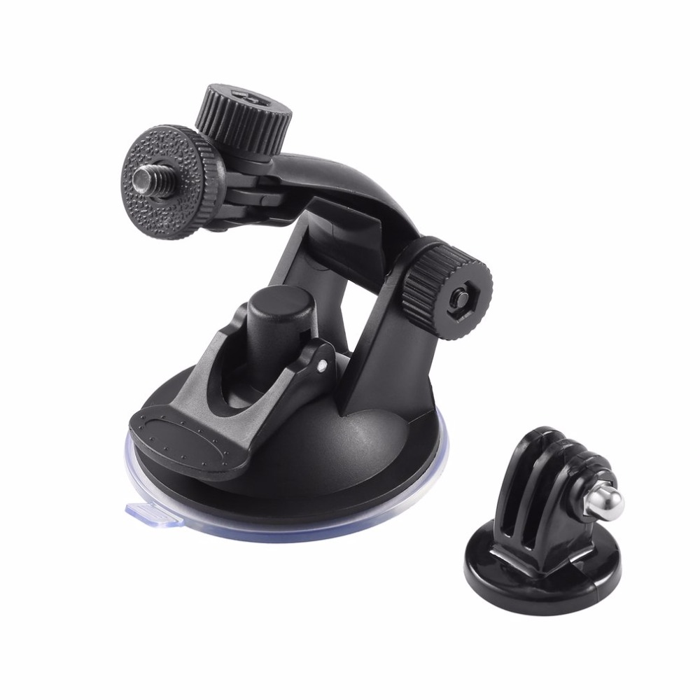 Suction Cup Mount Camera Accessories For Gopro Hero 4/3/2/HD Quick Release Buckle / Tripod Adapter Bracket Easy to Install