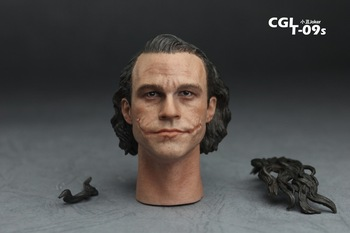 Batman 16 Heath Ledger joker Engraved head,Action Figure Hot toys ,12 inch action & toy figures Collectible Anime Figures gorros femininos