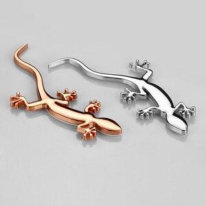 Image 3 - 3D Metal Gecko Car Accessories Sticker For Audi Quattro Sline A3 A4 B6 B5 A1 B7 B8 A7 Q3 Q5 Q7 S4 RS4 A5 S5 RS5 S6 S7 A8 TT A6