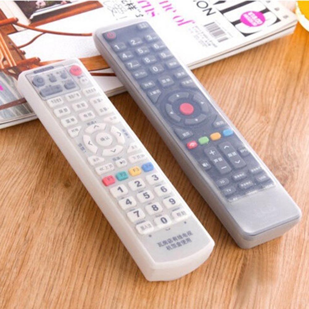 1 Pcs Silicone TV Remote Control Case Cover Video AC Air Condition Dust Protect Storage Bag Anti-dust Waterproof ...