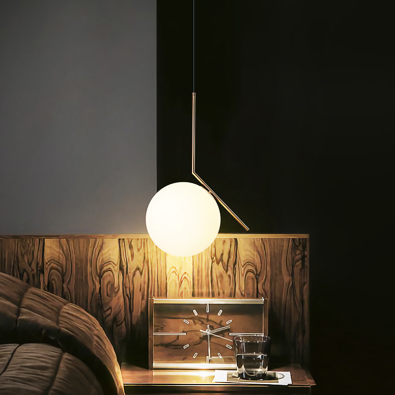 Здесь продается  Modern Nordic Two-color Spherical Chandelier Stylish Simple Style Lights Restaurant Living Room Bedroom Decorative Lighting E27  Свет и освещение