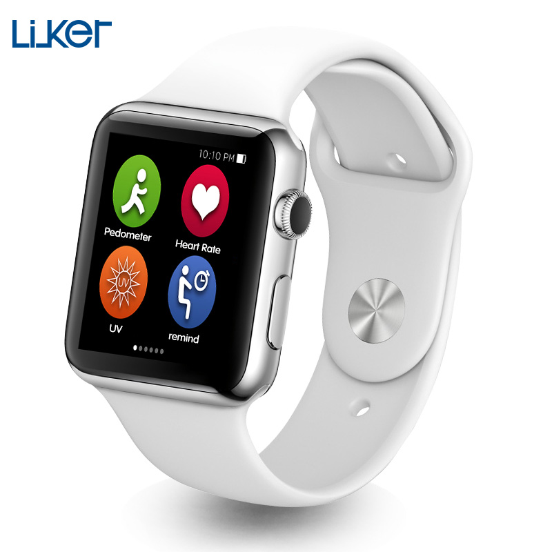IWO Smart Watch Bluetooth Smartwatch Compatible With IOS & Android Heart Rate Monitor Watch For Apple Samsung Without Retail Box kw18 heart rate smart watch bluetooth health smartwatch sim compatible for apple ios android
