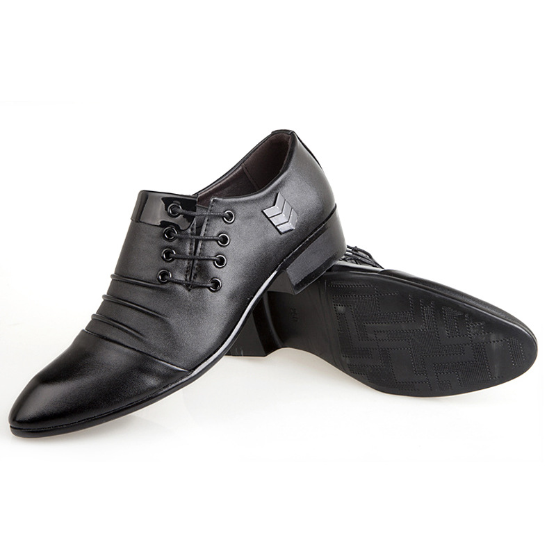 Hommes Bout Mode Boucle Solides Noir Mûr chocolat Carrière Pointu Printemps Sangle D'âge Robe Oxfords Autumm Pu Bureau Faible De Coudre Chaussures À rz5qrXZw