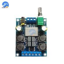 TPA3116D2 ses dijital amplifikatör kurulu 2X50W DC 4.5 27V çift kanallı Stereo ses kontrol sınıfı D ses hoparlörü kurulu HIFI