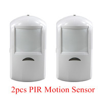 Wireless Pir Sensor 433MHZ Built In Intenna Antenna For Home Alarm WIDE ANGLE MICROCONTROLLER PASSIVE INFRARED