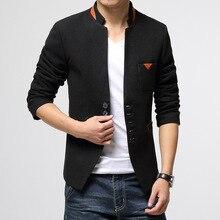 Neue Männer High-End Blazer Lässig Anzug Männer Frühling Herbst Kleidung Schlank Solide Marke Volle Hülse Komfortable Hochwertigen Blazer