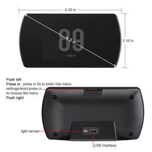 Image 4 - WiiYii T800  HUD OBD2 head up display car Screen On board Car HUD GPS Overspeed Warning Windshield Projector auto accessories
