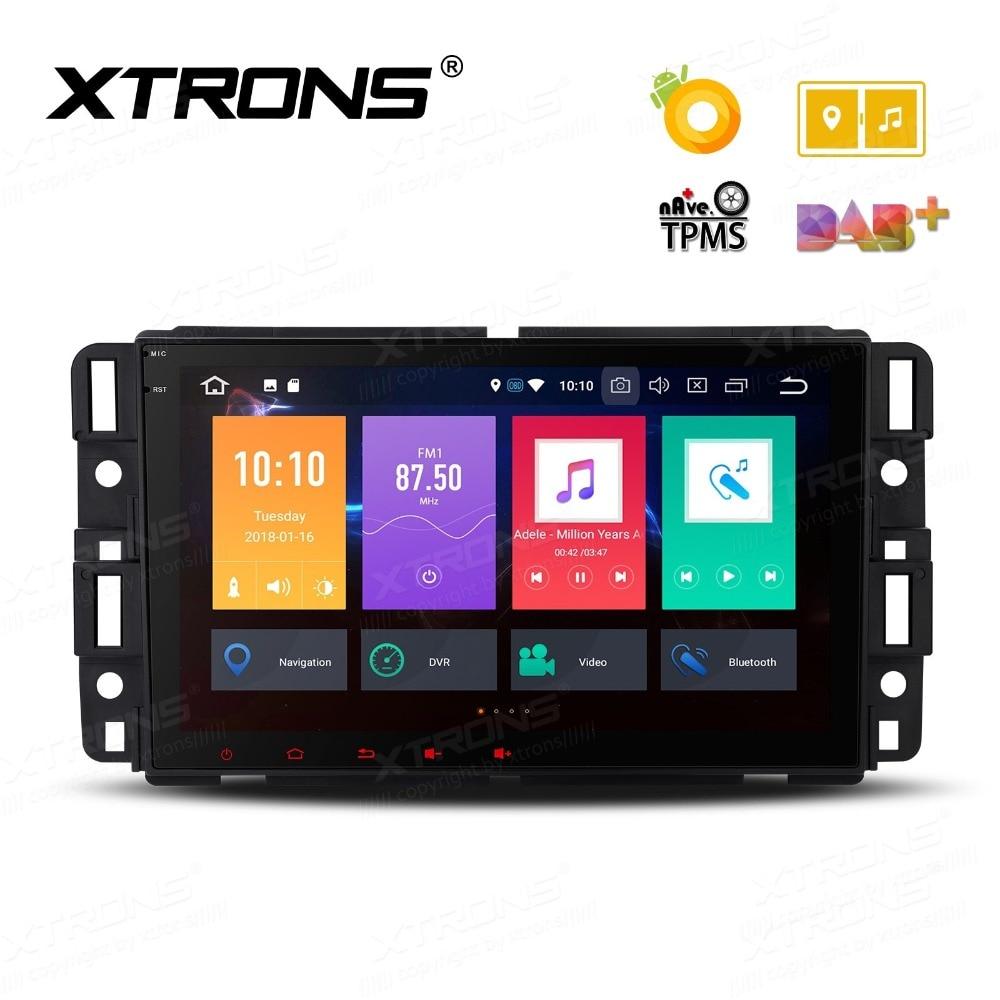 Android 8.0 Oreo OS 8 Car Multimedia GPS Radio for Chevrolet Traverse 2009 2012 & Suburban 2007 2014 & Avalanche 2007 2011