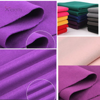 PPCrafts Double Sided Sanding Of Cashmere Wool Woolen Cloth Fabric DIY 50cmX150