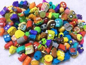 Image 3 - 100 개/몫 인기 만화 애니메이션 액션 피규어 장난감 뜨거운 쓰레기 인형 grossery 갱 모델 장난감 인형 어린이 크리스마스 선물