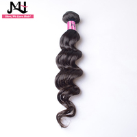 JVH Brazilian Loose Wave Hair Weaving Natural Color 100% Remy Hair Extensions Human Hair Weave Bundles