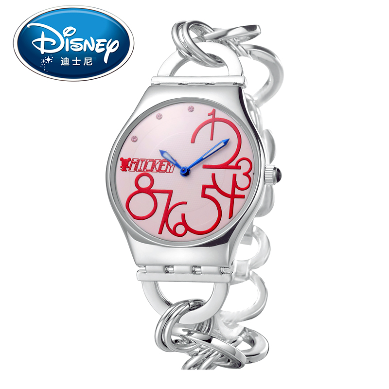 2017 Disney Kids Watch Casual Fashion Cute Quartz Wristwatches Girls for Children Mickey Mouse Gift Special