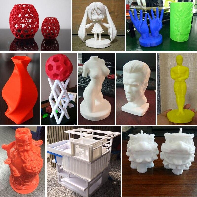 3d Printing Materials 7 cores abs pla 1kg/spool Diameter : 1.75mm