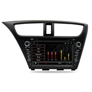 Image 4 - Android 9.0 Car Stereo DVD For Honda Civic Hatchback 2013+ WIFI 2 Din RDS GPS Navigation Bluetooth Audio Video Multimedia