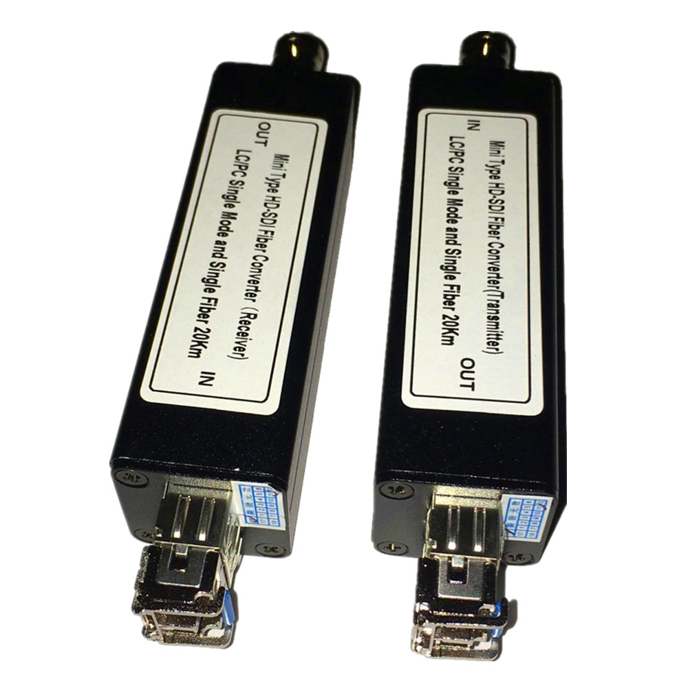 ZY STF502 Mini HD SDI Over Fiber Optic Media Converter 1080P HD SDI Over Fiber Video
