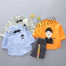 Spring Autumn Baby Boys Girls Clothing Sets Children Clothes Suits Gentleman Tie Shirt Pants 2pcs Kids Toddler Infant Costume цены