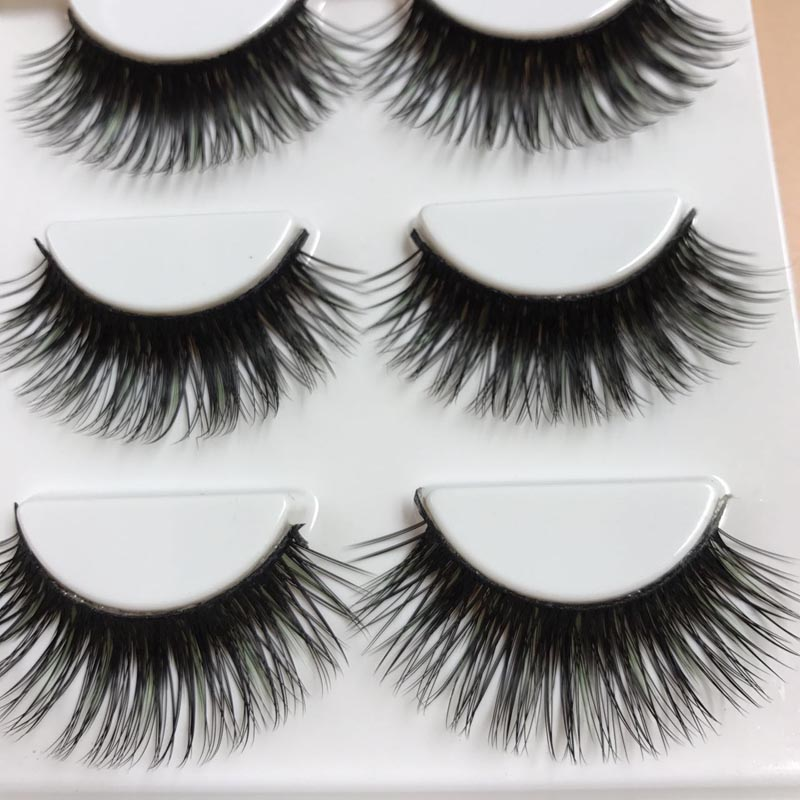 Beauty & Health Fashion Women 3 Pairs Waterproof Handmade 3d Glam Natural Thick Long False Eyelashes Beauty Tools 2017 Hot Sale