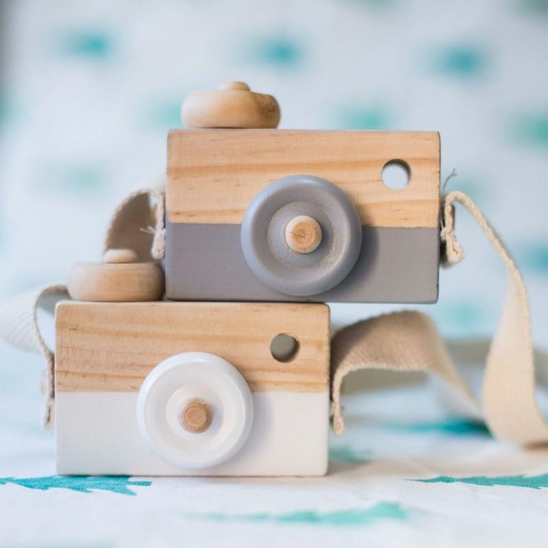 Piękne śliczne drewniane zabawki dla dzieci Wystrój pokoju - Wystrój domu - Zdjęcie 3