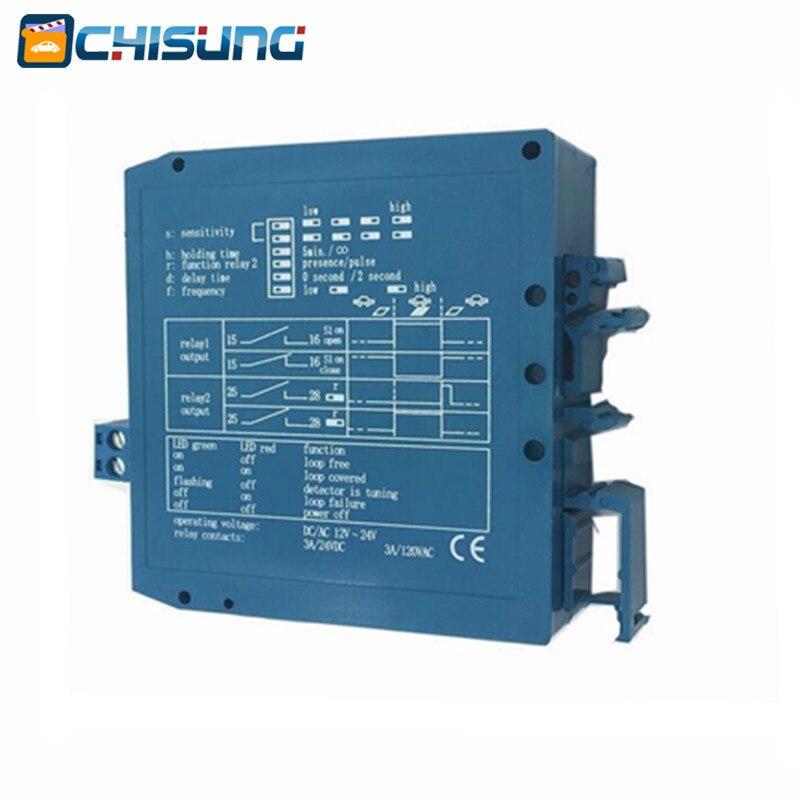 10pcs 12V 24V DC Inductive Vehicle Loop Detector Sensors For  Barrier Gate Opener