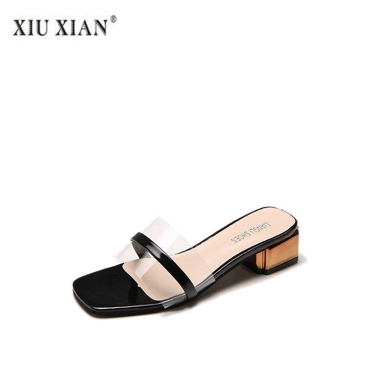 À Cm Haute Beige Talons Femme Nouvelles Chaussures Confortable Mode Carré Hauts 2018 Sexy 4 black Talon Femmes Casual xfOIqR6